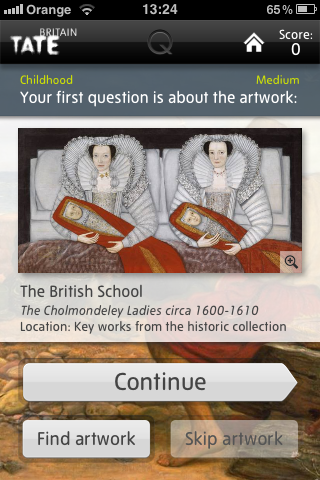 Review: Tate @Quiz_Trail app