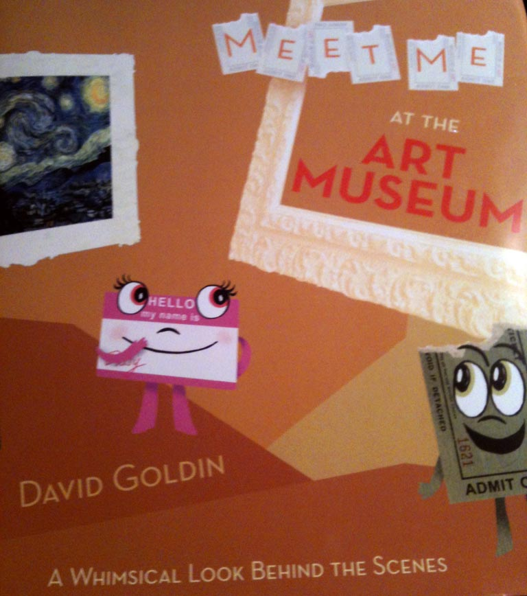 Book Review: Meet Me at the Art Museum @Abramsbooks @ACKidsUK