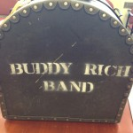 Buddy Rich snare drum case.  Dave Grohl from Nivanda and Foo Fighters was given permission to play his drum set.