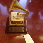 Ella Fitzgerald's Grammy which she bequeathed to the museum.