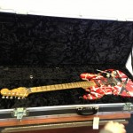 We also saw Eddie Van Halen's guitar.  Yes.  THE Eddie Van Halen.