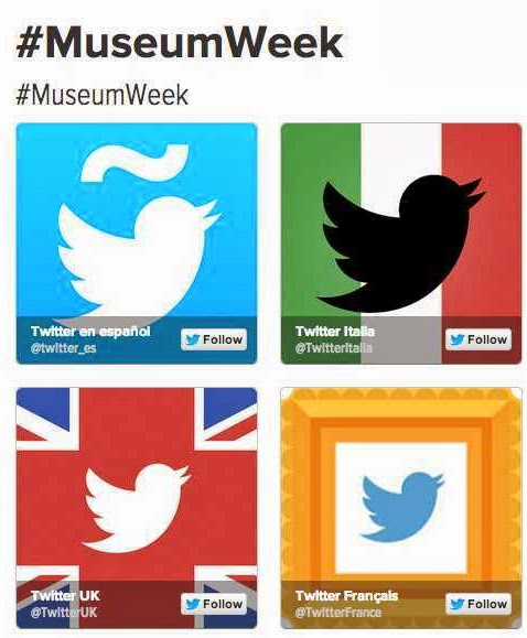 #MuseumWeek Press, Articles and Posts