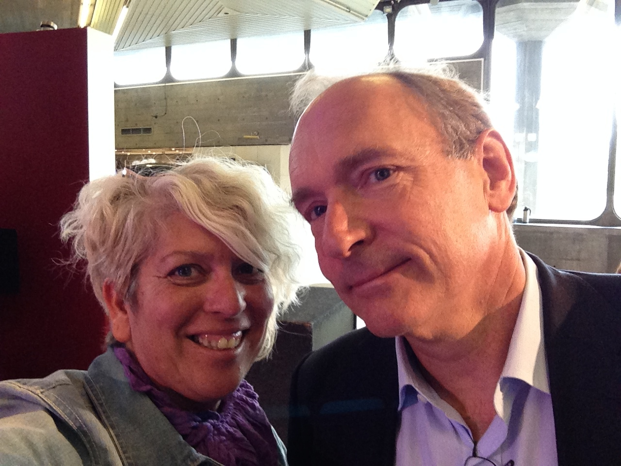 #WebWeWantFest Launch at Southbank with Sir Tim Berners-Lee #netneutrality