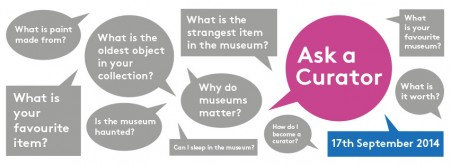 #AskACurator Day – Fun Stats