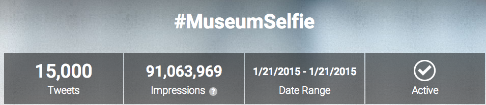 #MuseumSelfie Day 2015 – Press, Stats and More!