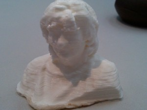3D print of my mom (seriously!)