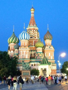 St  Basil's Cathedral, Moscow Russia