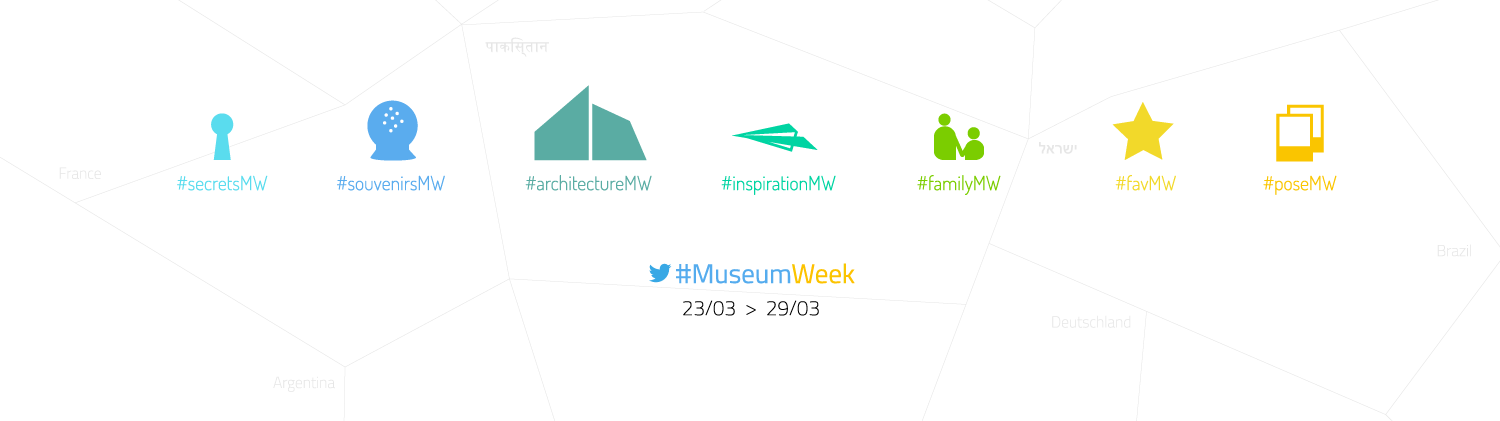 #MuseumWeek in less than 3 weeks – Webinar Announced!