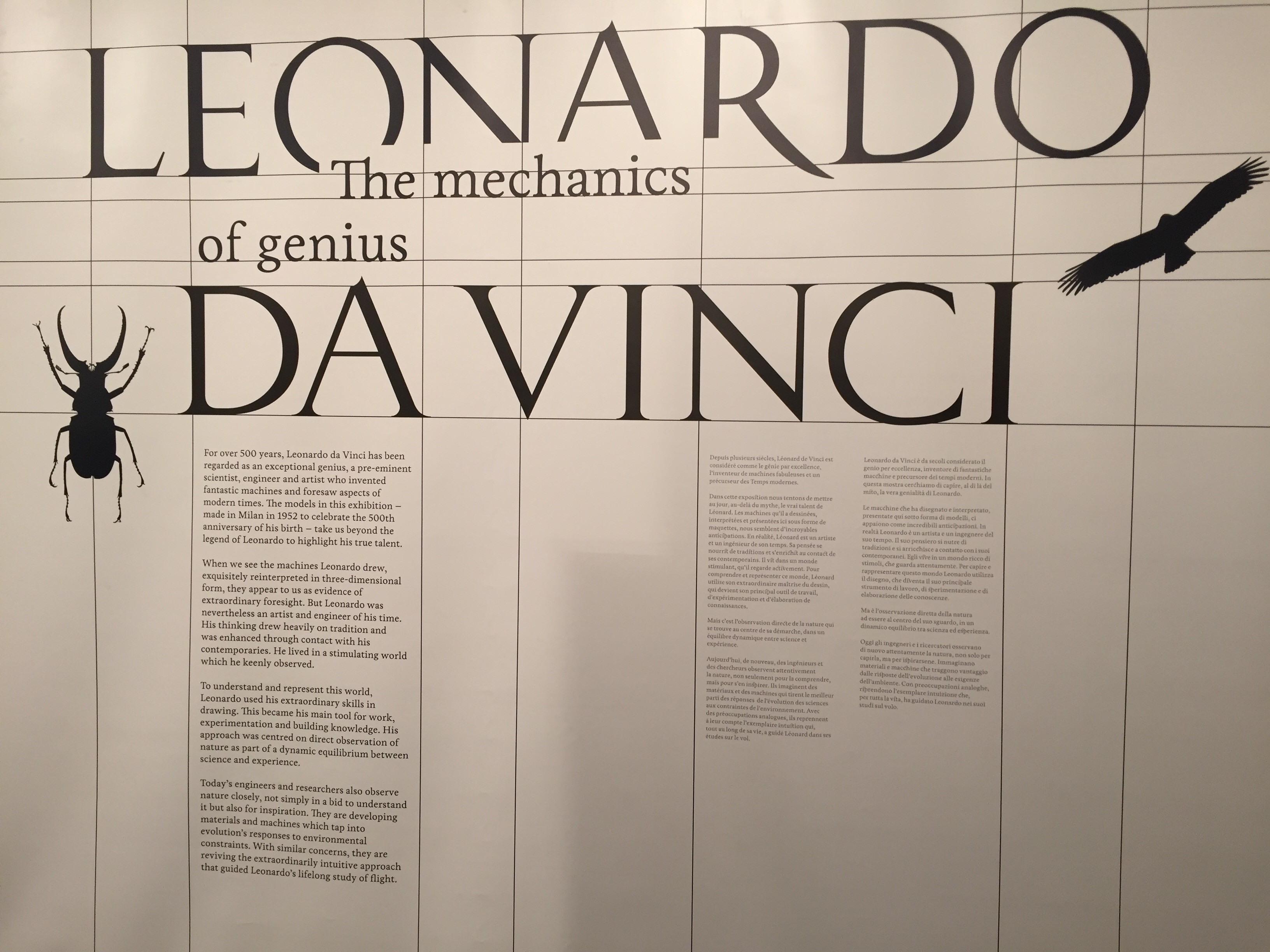 Leonardo da Vinci: The Mechanics of Genius @sciencemuseum