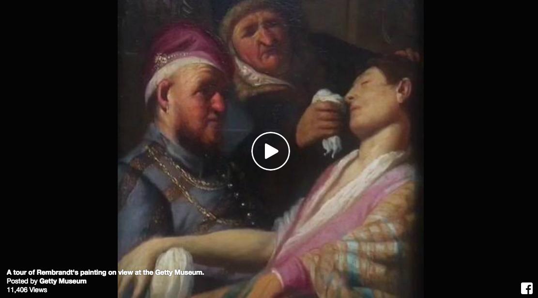 Guest Blog: Tips for using Facebook Live with Getty Museum @GettyMuseum